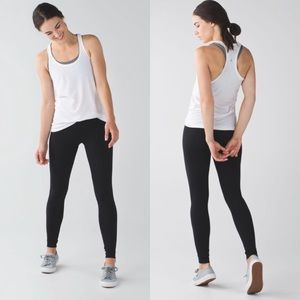 Lululemon wunder under full length size 6